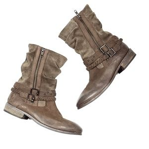 Matisse Outback Brown Leather Suede Boots